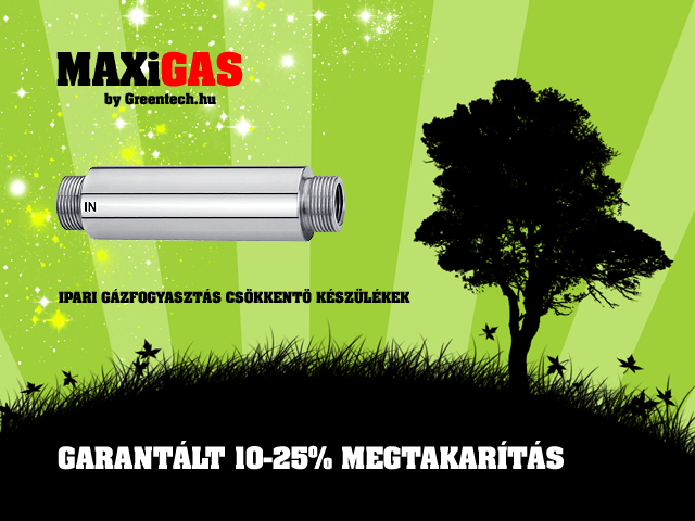 "MAXiGAS Professional Industrial 1"" Gas Saver Product"