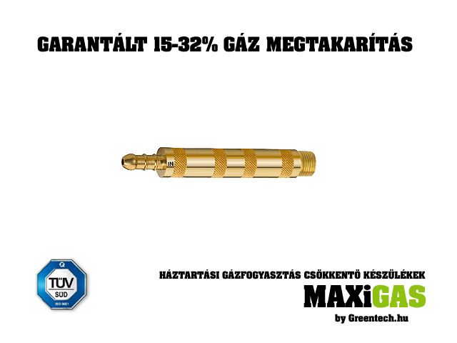 MAXiGAS PB-2 Professional Gas Saver Product LPG<br>