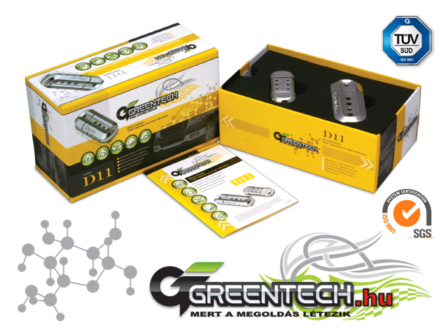 GREENTECH D11 Fuel Saver - Diesel Car Under 100L Fuel Tank<br>