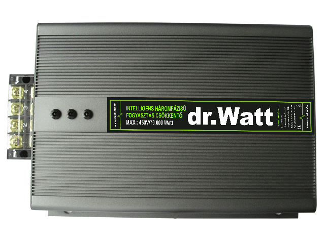 dr.Watt 70kW - 3 Phase Intelligent Electricity Saving Device