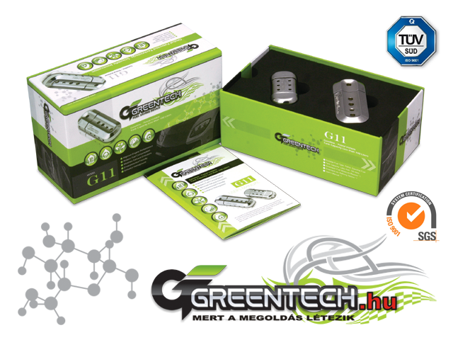 GREENTECH G11 Fuel saver - Gasoline Car Under 100L Fuel Tank<br>