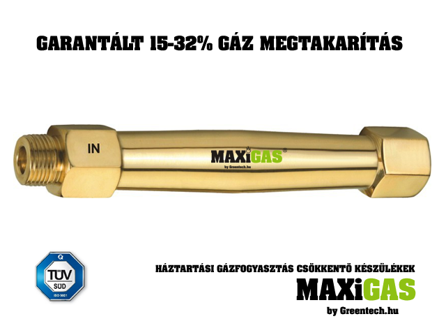 "MAXiGAS Professional Home 1/2"" Gas Saver Product"
